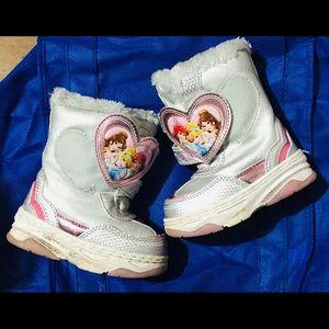👑 Toddler Girl Disney Princess Snowboots👑